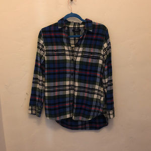 Oversized Madewell Flannel Button-up